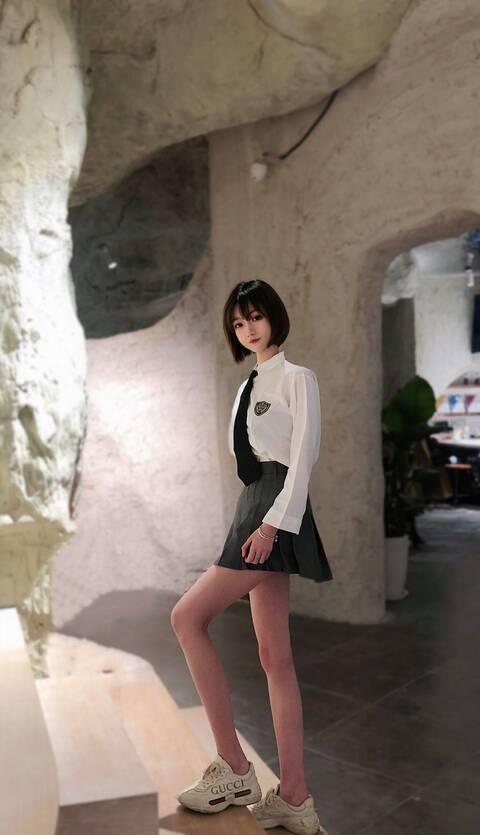 北京外围清纯女孩兼职长腿少女在读生2